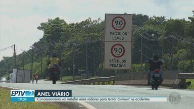 Anel Viário receberá novos radares de velocidade - Medida visa diminuição dos acidentes na área.