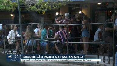 Cidade de São Paulo registra o pior isolamento da quarentena - Índice ficou em apenas 37% na capital.