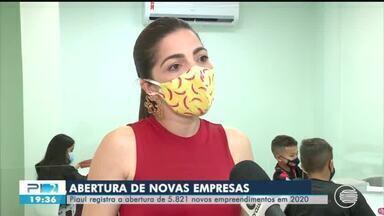 Piauí registrou a abertura de mais de 5 mil empresas em 2020 - Piauí registrou a abertura de mais de 5 mil empresas em 2020