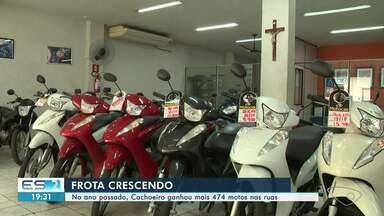 Cachoeiro de Itapemirim, ES, teve mais 474 motos nas ruas em 2020 - Confira na reportagem.