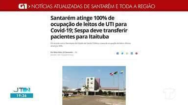 Lotação de UTI em Santarém é destaque no G1 Santarém e Região - Veja essas e outras notícias de Santarém e Região no celular, tablet e computador.