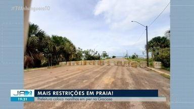 Em restrição por causa da Covid-19, Prefeitura de Palmas fecha píer da Graciosa - Em restrição por causa da Covid-19, Prefeitura de Palmas fecha píer da Graciosa