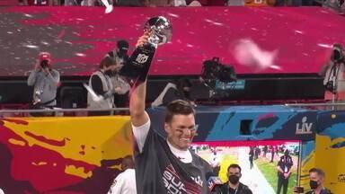 Tom Brady lidera Buccaneers e conquista o sétimo Super Bowl - Tom Brady lidera Buccaneers e conquista o sétimo Super Bowl