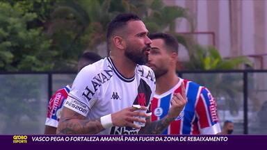 Vasco pega o Fortaleza para fugir da zona de rebaixamento do Brasileirão - Vasco pega o Fortaleza para fugir da zona de rebaixamento do Brasileirão