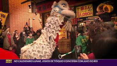 """""""Yokoso"""": no calendário lunar, Jogos de Tóquio coincidem com o ano do boi - """"Yokoso"""": no calendário lunar, Jogos de Tóquio coincidem com o ano do boi"""