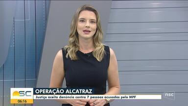 Operação Alcatraz: Justiça aceita denúncia contra 7 acusados de fraude em licitação - Operação Alcatraz: Justiça aceita denúncia contra 7 acusados de fraude em licitação