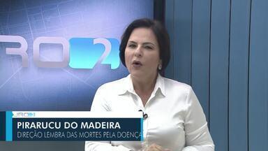 Veja a íntegra do Jornal de Rondônia 2ª edição de sábado, 6 de fevereiro de 2021 - Marindia Moura traz os destaques da edição, entre eles um acidente entre duas carretas na BR364 na região sul do estado; campanha de vacinação contra covid-19 e a taxa de ocupação de leitos de UTI em todo o estado.