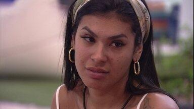 Pocah aconselha Camilla de Lucas no BBB21: 'Mil vezes, dormir' - Pocah aconselha Camilla de Lucas no BBB21: 'Mil vezes, dormir'