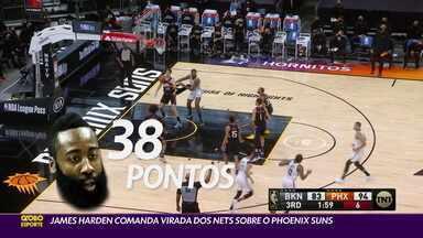 James Harden comanda a virada dos Nets sobre o Phoenix Suns - James Harden comanda a virada dos Nets sobre o Phoenix Suns