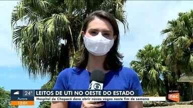 Hospital de Chapecó deve abrir novas vagas de UTI - Hospital de Chapecó deve abrir novas vagas de UTI