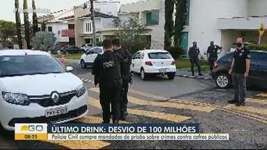 Polícia faz operação contra suspeitos de sonegar R$ 100 milhões em impostos - Segundo a Polícia Civil, grupo ostentava vida de luxo em Goiânia.
