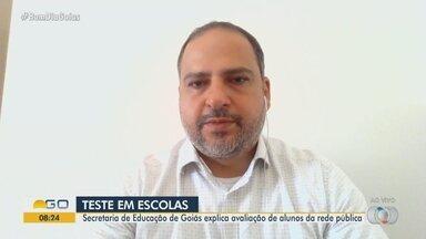 Secretaria de Educação de Goiás explica avaliação de alunos da rede pública - Superintendente de gestão estratégica da educação em Goiás explica sobre o assunto.