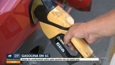 Preço do combustível subiu pela quarta vez só neste ano - Preço do combustível subiu pela quarta vez só neste ano