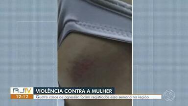 Marido é preso por agredir esposa com cofre de metal em Barra Mansa - Caso aconteceu na tarde de terça-feira, no bairro Santa Lúcia. Segundo a Polícia Militar, a mãe do suspeito ligou para a corporação e fez a denúncia.