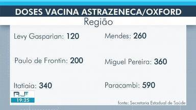 Veja quantas doses das vacinas contra a Covid-19 devem chegar na sua cidade- parte 2 - Mais de 17 mil doses serão destinadas para a região.