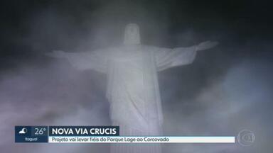 Semana Santa no Rio terá Via Sacra que termina no Cristo Redentor - A criação da Via que vai passar por trilhas da Floresta da Tijuca faz parte das comemorações dos 90 anos do Cristo em outubro.