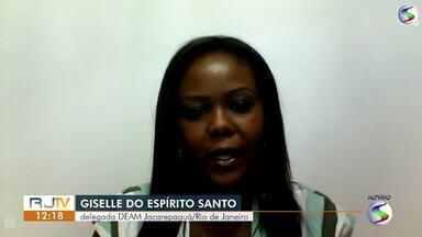 Delegada do DEAM fala sobre aumento de casos de violência contra mulher - Nessa semana, a região registrou quatro casos. Em Barra Mansa, um homem foi preso por agredir a esposa com um cofre de metal.