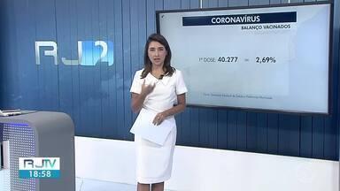 RJ2 mostra números da pandemia na região - Número de óbitos subiu em Três Rios e Sapucaia. As informações são das Secretarias Municipais de Saúde.
