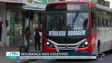 Ônibus que fazem linha para áreas longe do centro de Santarém são vulneráveis a assaltos - Esta semana, passageiros e funcionários de um ônibus que faz linha para Alter do Chão passaram por momentos angustiantes durante viagem.