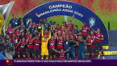 Flamengo perde para o São Paulo, mas é bicampeão - Flamengo perde para o São Paulo, mas é bicampeão