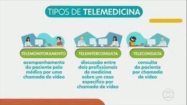 Entenda as regras para consultas à distância - Muitos medicamentos podem ser prescritos por telemedicina. A recomendação é que as consultas sejam feitas em plataforma segura para preservar os dados do usuário.