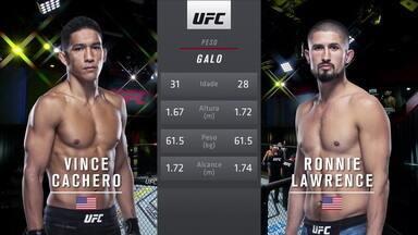 UFC Rozenstruik x Gané - Vince Cachero x Ronnie Lawrence - UFC Rozenstruik x Gané - Vince Cachero x Ronnie Lawrence