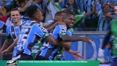 Grêmio pode igualar Cruzeiro como hexa da Copa do Brasil - Grêmio pode igualar Cruzeiro como hexa da Copa do Brasil