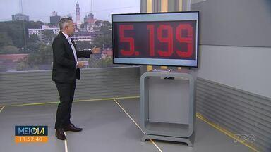 Gasolina chega a custar R$ 5,19 em Curitiba - Este foi o quinto aumento anunciado pela Petrobras este ano.