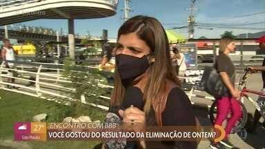 Público comenta elimnação de Lumena do BBB21 - Fátima Bernardes e Tati Machado também falam sobre a participação da eliminada no café da manhã com Ana Maria Braga