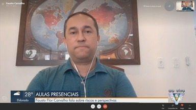 Fausto Flor Carvalho fala sobre possível paralisação das aulas presenciais - Presidente do Departamento de Saúde Escolar da Sociedade de Pediatria de São Paulo aborda riscos e perspectivas do cenário atual.