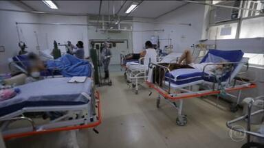 Pandemia leva desespero aos estados do sul do país - No Paraná, quase mil pacientes com covid aguardam por uma vaga na UTI. No hospital de referência pro tratamento da covid, em Porto Alegre, já faltam respiradores.