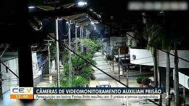 Câmera de monitoramento auxilia prisão - Saiba mais em g1.com.br/ce
