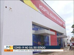 Em Balsas, hospital Macrorregional voltou a ter 100% de ocupação dos leitos para Covid-19 - UTI´s de Balsas estão lotadas.
