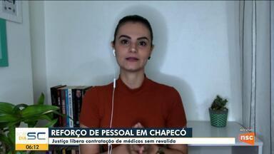Justiça libera contratação de médicos sem revalida em Chapecó - Justiça libera contratação de médicos sem revalida em Chapecó