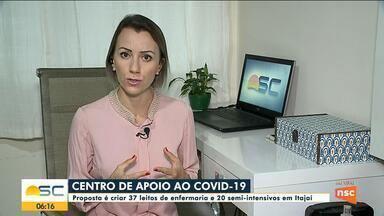 Itajaí deve criar centro de apoio contra a Covid-19 - Itajaí deve criar centro de apoio contra a Covid-19