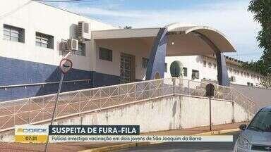 Polícia investiga vacinação contra Covid-19 de jovens em São Joaquim da Barra - Suspeita é de que eles teriam começado a trabalhar na farmácia do pai para entrarem no grupo prioritário da vacina