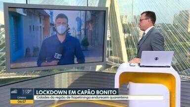 Lockdown em Capão Bonito começa a valer hoje - Itapeva, outra cidade da região, também deve decretar medida extrema.