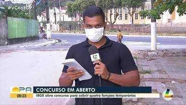 IBGE abre 6.500 vagas temporárias em processo seletivo - No Pará serão ofertadas 187 vagas.