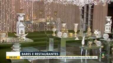 Trabalhadores de bares e restaurantes devem se cadastrar para receber auxílio - Saiba mais em: g1.com.br/ce