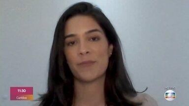 Renata Silveira estreou narrando primeiro jogo de futebol masculino na Globo - Mulheres conquistam cada vez mais espaço no mundo do futebol. Veja a reação da galera na rua a essa conquista feminina