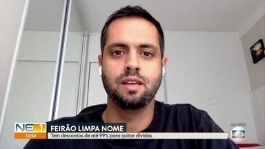 Feirão Limpa Nome: veja como participar e negociar dívidas com desconto - Evento promovido pela Serasa oferece descontos para quem quer quintar débitos.