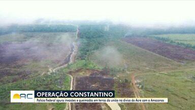 PF cumpre mandados de prisão e busca em Rio Branco e cidades do AM - PF cumpre mandados de prisão e busca em Rio Branco e cidades do AM