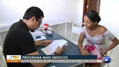 Profissionais da saúde são esperados em Santarém para região ribeirinha - Profissionais devem chegar na região no mês de abril.