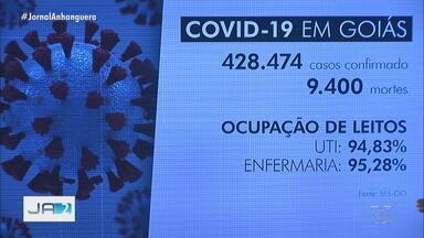 Confira os números da Covid-19 nesta quinta-feira (11), em Goiás - Veja o número de casos e mortes pela doença.