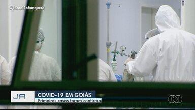 Primeiros casos de Covid-19 foram registrados há 1 ano, em Goiás - Relembre o início da pandemia no estado.