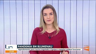 Blumenau anuncia que igrejas e templos poderão funcionar - Blumenau anuncia que igrejas e templos poderão funcionar