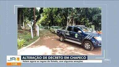 Chapecó segue decreto estadual para combater a pandemia - Chapecó segue decreto estadual para combater a pandemia