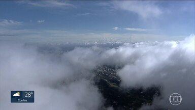 Fim de semana será de sol com pancadas de chuva em BH - Veja a previsão do tempo completa para este fim de semana.
