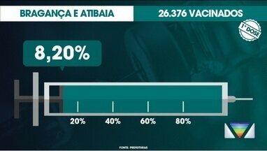 Veja balanço de vacinação na região - Dados são das prefeituras.