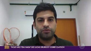 Segue o BAba: Confira entrevista com Lucas Drubscky, executivo de futebol do Bahia - Lucas falou sobre o Jean no clube baiano, novo modelo de gestão, saída do Sport e futuro do Clayson.